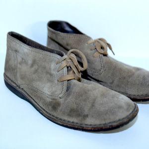 John Varvatos Suede Boots Zander sz 12